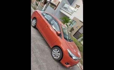 Selling Orange Toyota Vios 2014 in Calamba