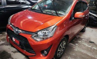 Orange Toyota Wigo 2018 Manual