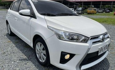 Sell White 2015 Toyota Yaris