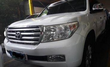 White Toyota Land Cruiser 2008 Automatic
