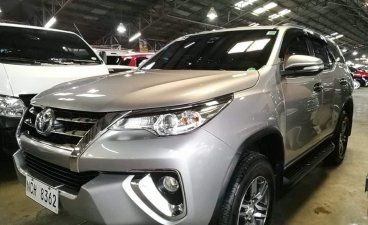 Selling Silver Toyota Fortuner 2016 in Pasig