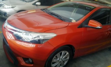 Selling Orange Toyota Vios 2015 in Caloocan