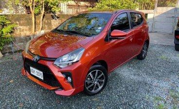 Selling Orange Toyota Wigo 2020 in Quezon