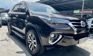Black Toyota Fortuner 2016 for sale in Las Piñas