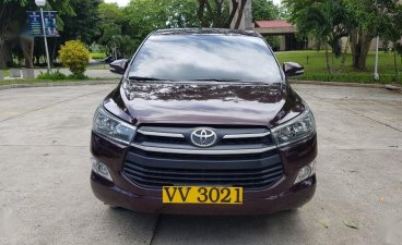 Red Toyota Innova 2017 for sale in Balete