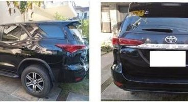 Black Toyota Fortuner 2016 for sale in Makati