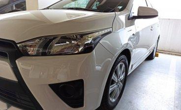 White Toyota Yaris 2014 for sale in Marikina