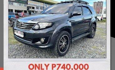 Selling Grey Toyota Fortuner 2012 in Mandaue