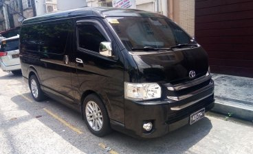 Black Toyota Hiace 2016 for sale in Quezon