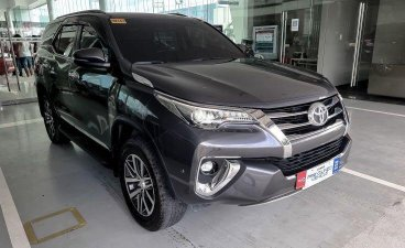Silver Toyota Fortuner 2018 for sale in Las Piñas