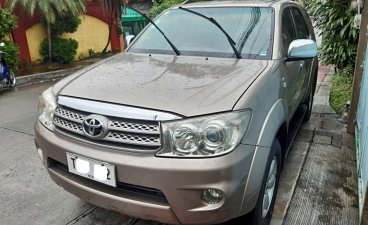 Brown Toyota Fortuner 2011 for sale in Quezon