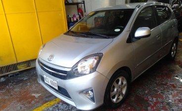 Selling Silver Toyota Wigo 2017 in San Juan