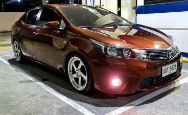 Brown Toyota Corolla Altis 2014 for sale in Manila