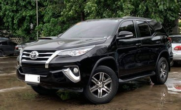 Black Toyota Fortuner 2017 for sale in Makati