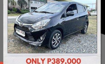 Black Toyota Wigo 2017 for sale in Mandaue