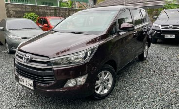 Selling Red Toyota Innova 2020 in Quezon