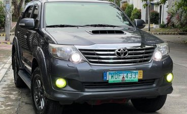 Selling Grey Toyota Fortuner 2014 in San Mateo