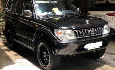 Black Toyota Land Cruiser Prado 1997 for sale in Quezon