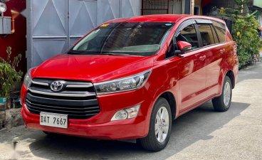 Selling Red Toyota Innova 2021 in Makati