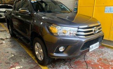 Selling Grey Toyota Hilux 2020 in San Juan