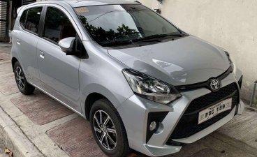 Selling Silver Toyota Wigo 2020 in Quezon
