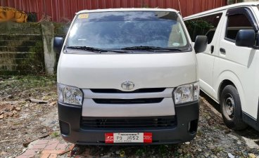 White Toyota Hiace 2021 for sale in Quezon