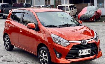 Orange Toyota Wigo 2020 for sale in Manual