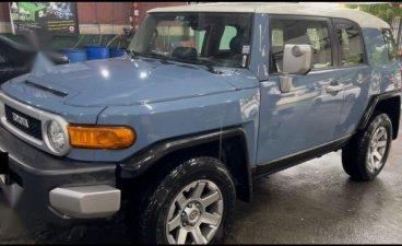 Blue Toyota FJ Cruiser 2016 for sale in San Pedro