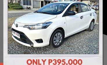 Selling Pearl White Toyota Vios 2016 in Mandaue