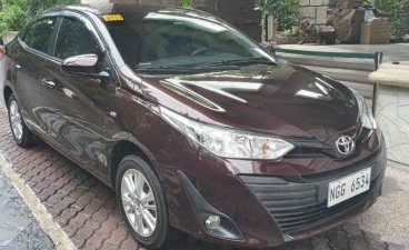 Selling Red Toyota Vios 2020 in San Juan