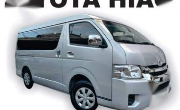 Selling Brightsilver Toyota Hiace 2018 in Cainta