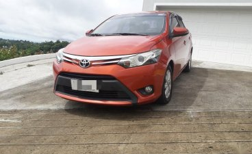 Selling Orange Toyota Vios 2014 in Quezon