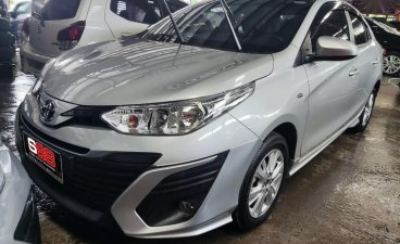 Silver Toyota Vios 2020 for sale in Manual