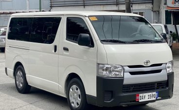 Pearl White Toyota Hiace 2021 for sale in Manual