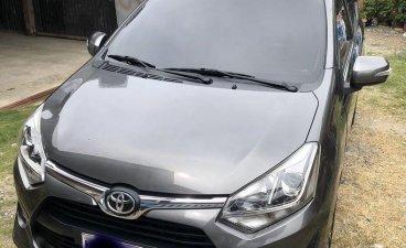 Silver Toyota Wigo 2018 for sale in Jones