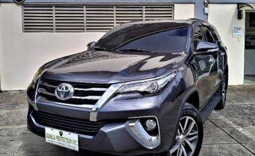Black Toyota Fortuner 2017 for sale in Manila