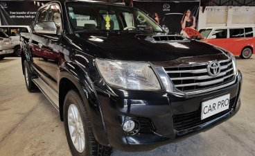 Selling Black Toyota Hilux 2014 in San Fernando