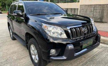 Black Toyota Land Cruiser Prado 2011 for sale in Quezon