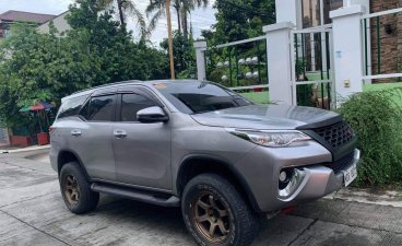 Sell Silver 2019 Toyota Fortuner in Quezon City