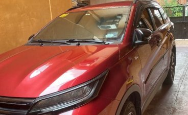 Red Toyota Rush 2007 for sale in Quezon City
