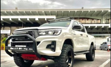 Sell 2018 Toyota Hilux in Quezon City