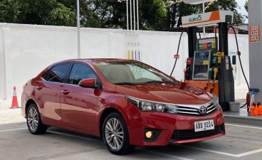 Selling Red Toyota Corolla Altis 2015 in Mandaluyong