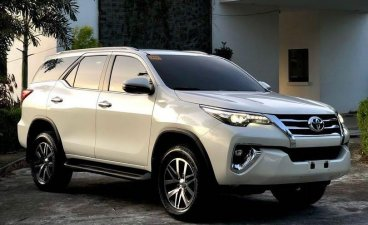 Sell White 2018 Toyota Fortuner in Pasay