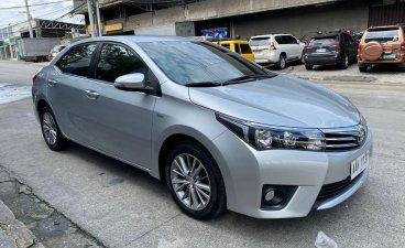 Sell Silver 2014 Toyota Altis in Quezon City