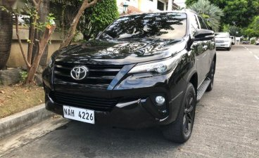 Selling Black Toyota Fortuner 2017 in Pasay