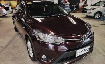 Selling Red Toyota Vios 2017 in San Fernando
