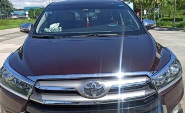 Red Toyota Innova 2017 for sale in Automatic