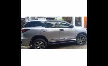 Silver Toyota Fortuner 2017 for sale in Pasig