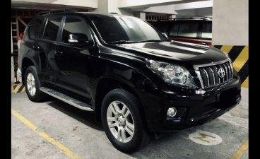 Black Toyota Land Cruiser Prado 2012 in Pasig