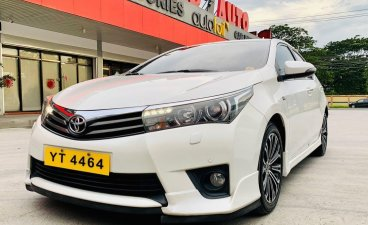 Sell Pearl White 2021 Toyota Corolla Altis in San Fernando